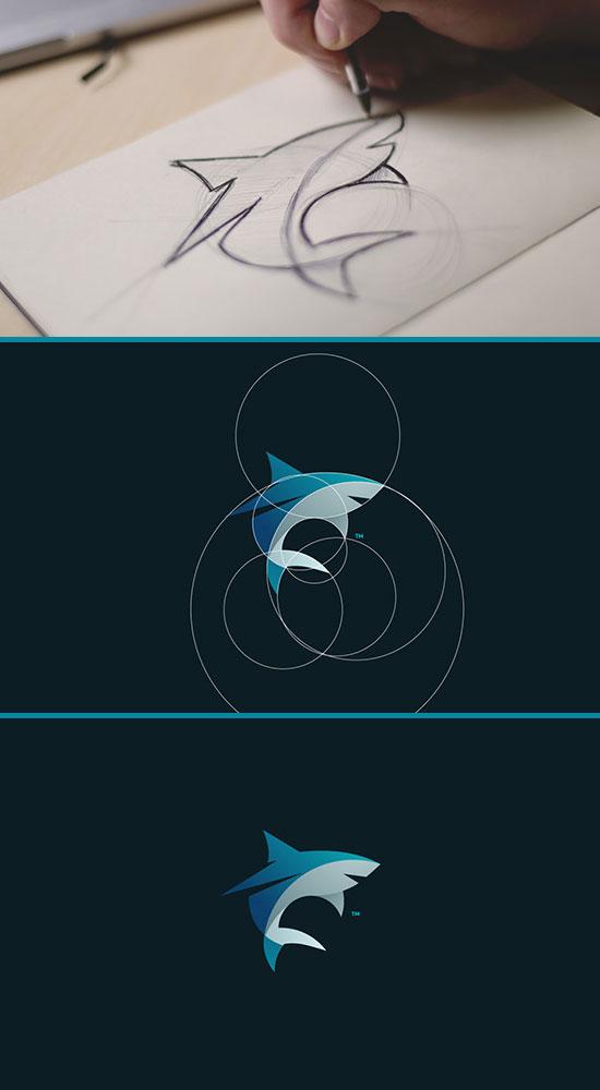 国内资讯_鲨鱼LOGO设计欣赏 - logo征集 - 全球征集网-征集网-中国征集网-标识 ...