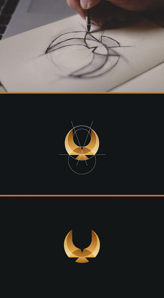 国内资讯_鹰LOGO标志设计欣赏 - logo征集 - 全球征集网-全球设计网-中国第一 ...
