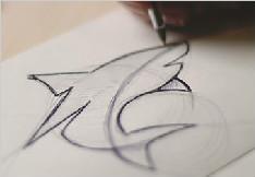 鲨鱼LOGO设计欣赏