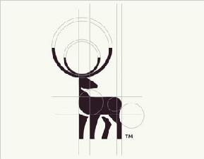 鹿LOGO标识设计欣赏