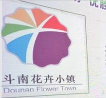 斗南花卉小镇LOGO征集活动大奖从25个省(市)设计作品中决出
