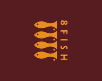 国外漂亮的鱼形标识LOGO欣赏