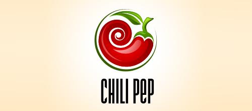 以辣椒为元素的标识(logo)设计欣赏图片