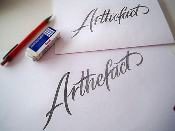 Mateusz Witczak手写字体logo设计