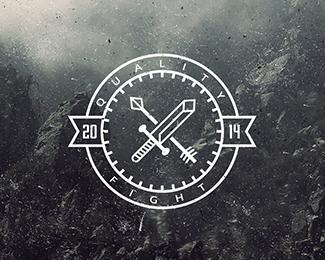 标志设计元素运用实例:剑(2)