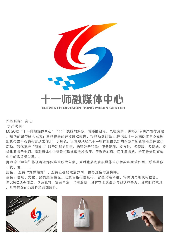 十一师融媒体中心形象标识LOGO征集评选结果公示