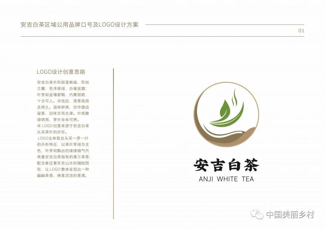 安吉白茶区域公用品牌口号及LOGO征集获奖名单揭晓
