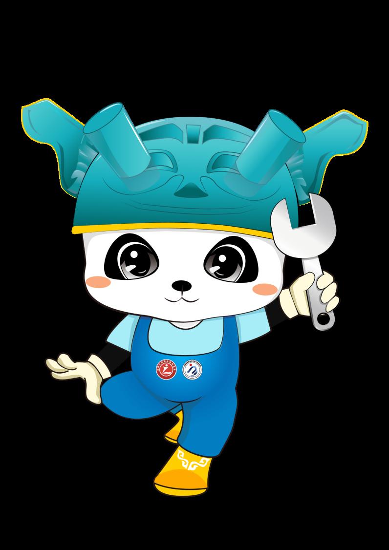 2021年全国行业职业技能竞赛—第四届全国智能制造应用技术技能大赛吉祥物正式发布